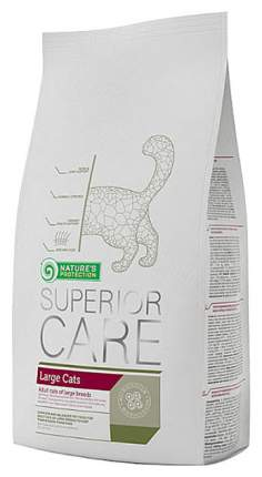 Сухой корм для кошек Nature's Protection Superior Care, для крупных пород, птица, 1,5кг