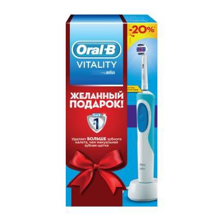 Электрическая зубная щетка Oral-B Vitality 3D White в подарочной упаковке