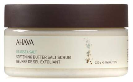 Масляно-солевой скраб для тела Ahava Deadsea Salt Softening Butter Salt Scrub 235 мл