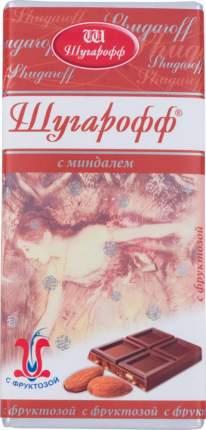Шоколад с миндалем Шугарофф с фруктозой 80 г