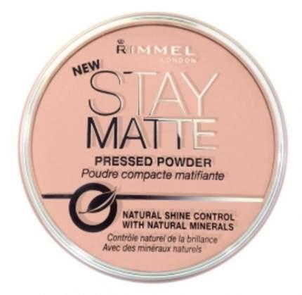 Пудра Rimmel Stay Matte Матирующая пресс-пудра 003 - Peach Glow
