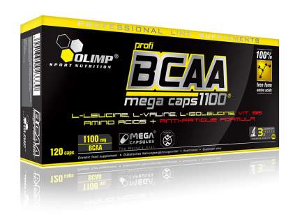 Olimp BCAA Mega Caps 120 капсул без вкуса