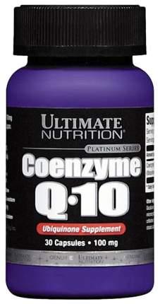 Коэнзим Ultimate Nutrition Coenzyme Q10 30 капс.