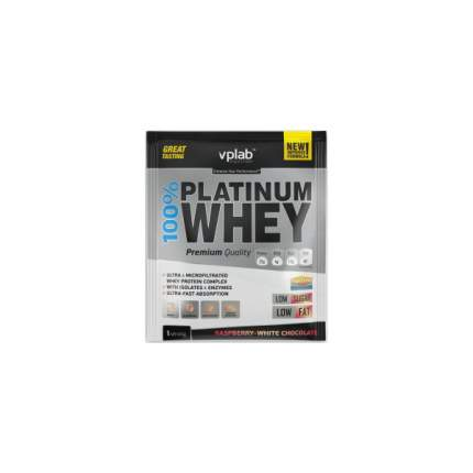 Протеин VPLab 100% Platinum Whey 30 г Raspberry-White Chocolate