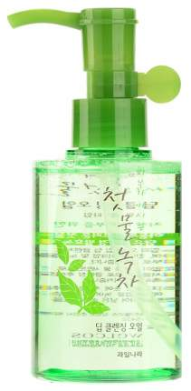 Гидрофильное масло Welcos Green Tea Cleansing Oil 170 мл