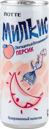 Напиток газированный Милкис персик жестяная банка 250 мл