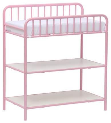 Столик для пеленания Polini Kids Vintagе 1180 металлический, Розовый
