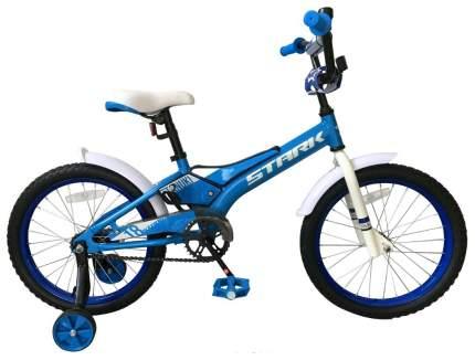 Велосипед двухколесный Stark Tanuki 18 Boy 2019 Голубой/Белый