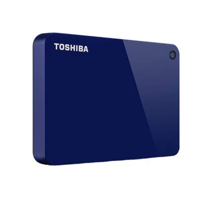 Внешний диск HDD Toshiba Canvio Advance 1TB Blue (HDTC910EL3AA)