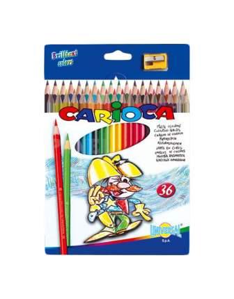 Карандаши цветные Carioca Набор карандашей цветных 36 цветов