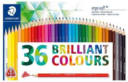 Набор цветных карандашей Ergo Soft 36 цветов Staedtler