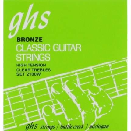 Струны для классической гитары GHS 2100W
