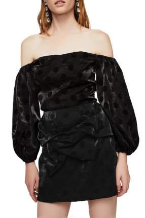 Юбка женская MANGO 13087640-99 черная L