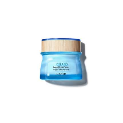 Крем для лица увлажняющий THE SAEM Iceland Aqua Moist Cream 60мл