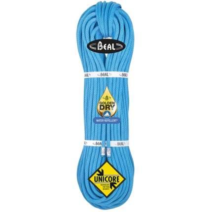 Веревка динамическая Beal Joker Soft Unicore 9,1 мм, синяя, 80 м