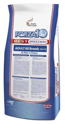 Сухой корм для собак Forza10, все породы, с микрокапсулами, рыба и рис, 20кг