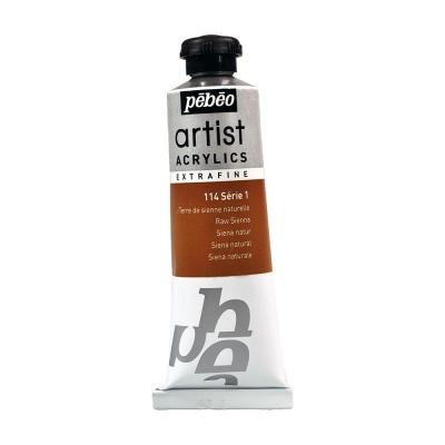 Акриловая краска Pebeo Artist Acrylics extra fine №1 сиена натуральная 37 мл