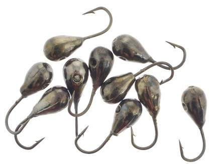 Мормышка вольфрамовая Капля с отверстием, 3 мм, никель, 1230BN/КО3