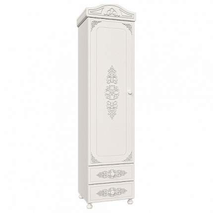 Платяной шкаф Компасс-мебель Ассоль АС-01 KOM_AC01_2 53,2x40x206, белое дерево
