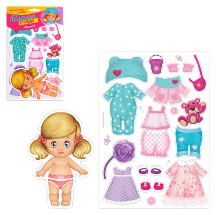 Магнитная игра Одень куклу: малышка Happy Valley