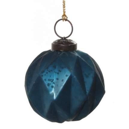 Набор шаров на ель ShiShi Новый год 8 см 48243 6 шт