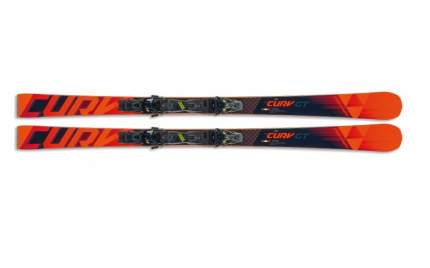 Горные лыжи Fischer RC4 The Curv GT RT + RSW 13 PR 2020, black/orange, 182 см