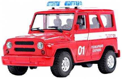 """Инерционный УАЗ """"Пожарная охрана"""" Joy Toy"""