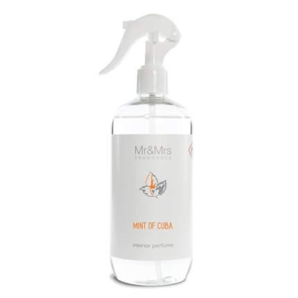 Интерьерные духи-спрей Mr&Mrs Fragrance Blanc 500мл аромат №06 Мята Кубы