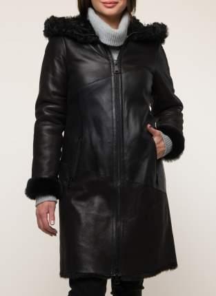 Дубленка женская Каляев 331 черная 44 RU