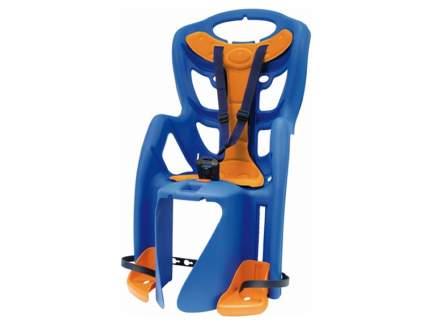 Детское велокресло заднее Bellelli Pepe Clamp синее/оранжевое