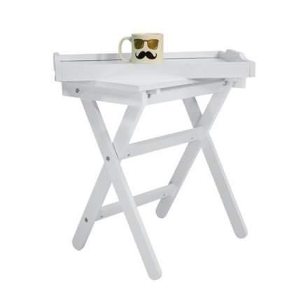 Журнальный столик Висан Лотос 99х39х62 см, дуб молочный