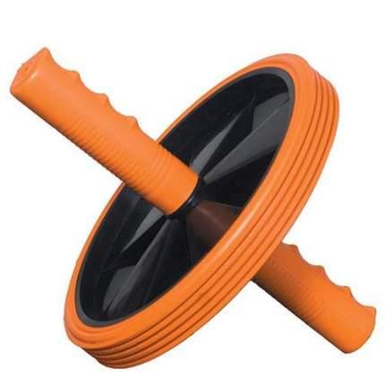Ролик для пресса одинарный 51143 black/orange
