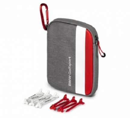 Сумочка для ти BMW Golfsport Tee Bag, Grey/White/Red
