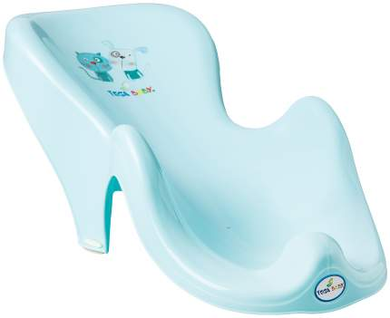 Горка для купания Tega Baby Пёс и кот голубой