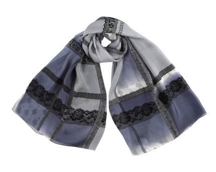 Шарф женский Leo Ventoni KSS1401008-2 серебристый/синий/серый