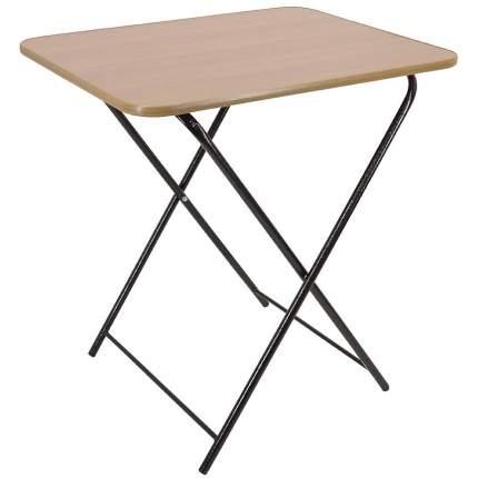 Стол раскладной на металлокаркасе коричневый 1214