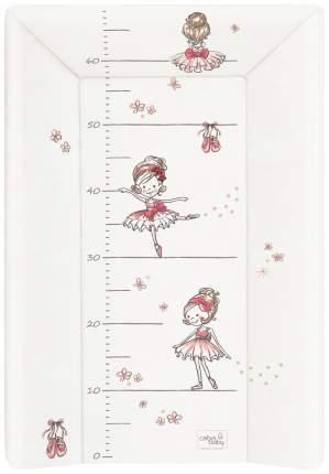 Матрац пеленальный Ceba Baby Prima Ballerina wh W-201-090-101