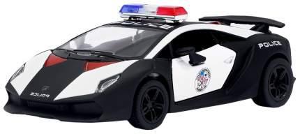 Машина инерционная Kinsmart Lamborghini Sesto Elemento Police, металл, масштаб 1:38