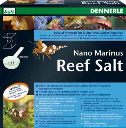 Морская соль Dennerle Nano Marinus Reef Salt 1 кг