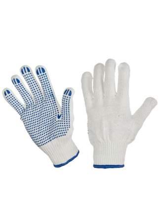 Перчатки хозяйственные строительные с ПВХ и нано-нитью 5 пар