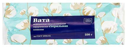 Вата PL медицинская хирургическая стерильная 250 г