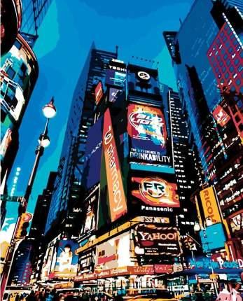 "Картина по номерам Живопись по Номерам ""Таймс сквер, Нью-Йорк"", 40x50"