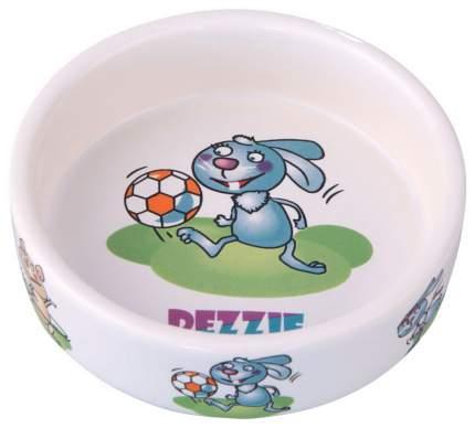 Одинарная миска для грызунов DEZZIE, керамика, разноцветный, 0.11 л