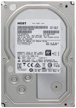 Внутренний жесткий диск HGST Ultrastar 7K6000 2TB (HUS726020ALE614)