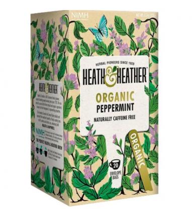 Напиток мята Heath and Heather органик  20 пакетиков
