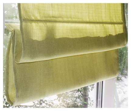 Римская штора Эскар Ballard 160х160 цвет салатовый