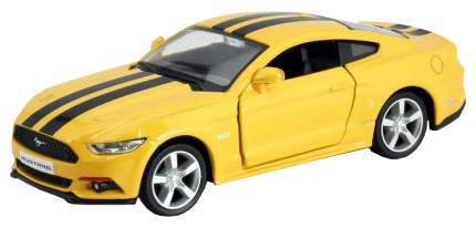 Машина металлическая RMZ City 1:32 Ford 2015 Mustang with Strip желтый 554029C-YL