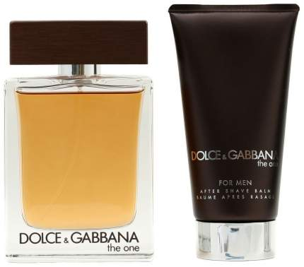 Парфюмерный набор Dolce & Gabbana The One 50+75 мл (туалетная вода + бальзам после бритья)