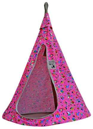 Гамак Mouse House Совы розовые 80-13 диаметр 80 см