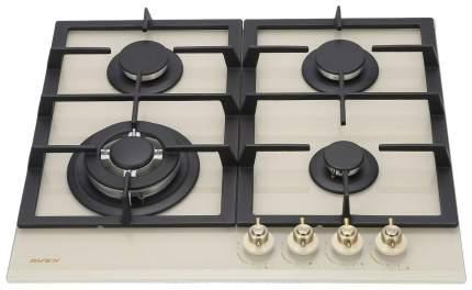 Встраиваемая варочная панель газовая AVEX HM 6044 RY Beige